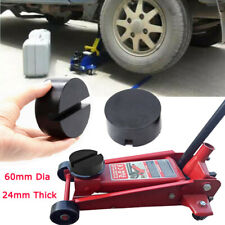 SLOTTED Rubber Pad for Heavy Duty Hydraulic Trolley Floor Jack Car Garage Van