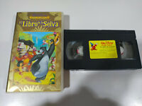 EL LIBRO DE LA SELVA LOS CLASICOS DE WALT DISNEY - VHS CINTA CASTELLANO