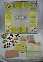Finance & Fortune House and Lot Vintage Board Game 1936 Wooden Pieces Parker Bro