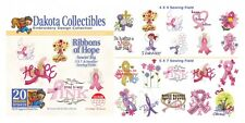 Dakota Collectibles Embroidery Machine Design CD - Ribbons Of Hope 970419