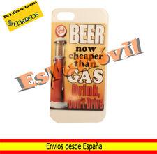 Carcasa funda iPhone SE / 5 / 5s diseño vintage  Beer Gas