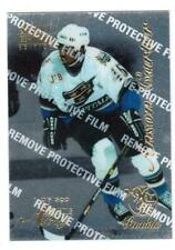 1996-97 SELECT CERIFIED #94 ANSON CARTER ROOKIE ARTIST'S PROOF