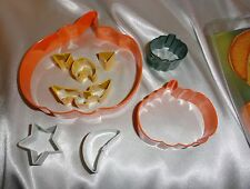 Pumpkin face, cookie cutters, Halloween cookie cutters, baking supplies, festive
