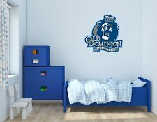 Old Dominion Monarchs NCAA Football Wall Decal Vinyl Sticker For Room Home