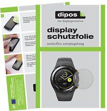6x Huawei Watch 2 Film de protection d'écran protecteur antireflet dipos