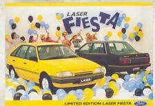 1988 Ford Laser Fiesta Brochure Australia 08/88 wv5464