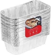 Stock Your Home Aluminum Foil Loaf Pan 8x4, 2lb - 30 Count