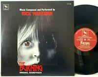 The Burning - Soundtrack Rick Wakeman Varese Sarabande LP Vinyl Record Album