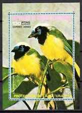 Oiseaux Guinée Equatoriale (16) bloc oblitéré