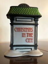 Christmas in the City Village Sign - Porcelain nr. 5960-9