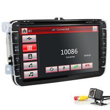"GPS Headunit 8"" Car Stereo Radio DVD Player Touchscreen for VW Passat+Rear CAM"