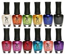 SXC Metallic Nail Polish Set of 12 Premium Colors