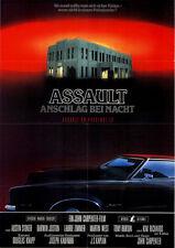 Assault - Anschlag bei Nacht ORIGINAL A1 Kinoplakat John Carpenter / A. Stoker