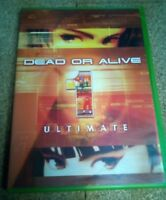 Dead or Alive 1 ULTIMATE ~ Original XBOX Game Case & Disc ONLY - NO MANUAL
