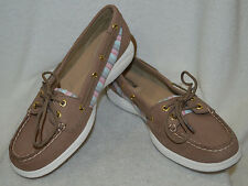 Sperry Top-Sider Women's Laguna Greige/Stripe Boat Shoes - Asst Sizes