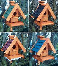 Handgefertigtes Rechteckiges Vogelhaus Futterstelle Nistkasten Vogelhäuschen