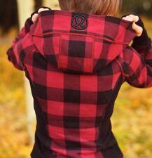 Lululemon Lumberjack Mini Camp Check Scuba Hoodie Sz 8❤AMAZING ❤