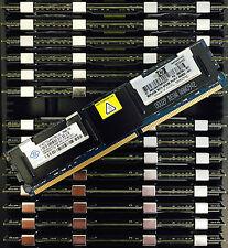 16 GB (4x4GB) DDR2 PC2-5300F 667 MHz ECC Fully Buffered server di memoria RAM HP DELL
