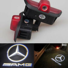 2x Ghost LED Door Step Courtesy Shadow Laser Light Mercedes C-Class 08-14 AMG