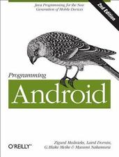 Programming Android: Java Programming for the New Generation of Mobile Devices,
