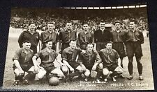 1951/52 - SOCCER - F.C. LIEGEOIS - TEAM PHOTO - POSTCARD - BELGIUM CHEWING GUM