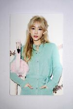 SNSD Girls' Generation TTS Dear Santa TaeYeon A Official Photo Sticker Card KPop