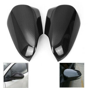 Fit For CHR 2016-18 Car Reversing Mirror Protective Shell Cover Carbon Fiber