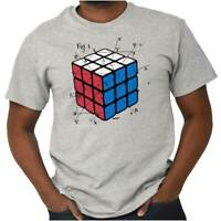 Licensed Rubiks Cube Puzzle Math Formula Gift  Short Sleeve T-Shirt Tees Tshirts