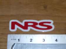 NRS Red Logo Sticker Decal