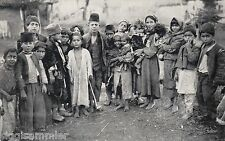 Enfants enfait photo-AK 1916 wk I serbie srbija 1606372