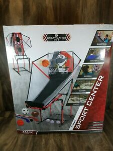 NEW Majik 5-in-1 Electronic Arcade Sport Center Game System