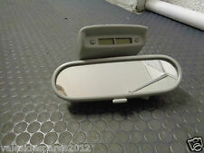 VW BEETLE 2001 REAR VIEW MIRROR LIGHT CLOCK
