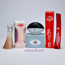 Kenzo 3 Mini Perfume Miniature Bottle KENZO WORLD  JEU D'AMOUR  FLOWER TAJ NIB