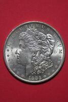 1883 O Uncirculated Vam 22A Partial E Reverse Hot 50 R6 Morgan Dollar OCE 034
