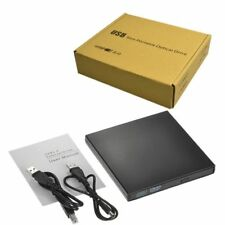 External Portable Optical USB 2.0 DVD ROM ROM CD±RW Disc Drive for all Laptop's