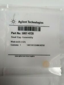 Agilent 5067-4728 Seal Cap Assembly.FREE TRACKED POSTAGE