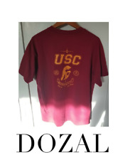 USC USAF US AIR FORCE ROTC vintage vtg single stitch tee shirt sz L Large euc $