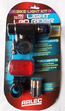 ARLEC DEL Bike Light Kit 190 Super Bright Lumens AT0007GB (9311644503675)