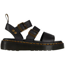 Dr.Martens Gryphon Quad Pisa Leather Casual Buckles Slingbacks Womens Sandals