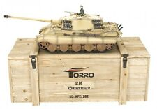 Torro 1:16 RC Roi Tigre Tiger 2 IR-Battlesystem 360 ° Turmdrehung 1112200701