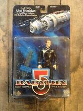 "Babylon 5 Space Station ""Captain John Sheridan"" -  1997 WB Toy - Action Figure"