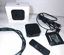 Apple TV (4th Gen) 32GB HD 1080p Media Streamer WITH Wall Mount & Remote ++!!