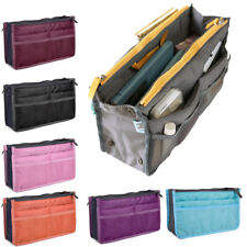 Women Organizer Handbag Travel Bag Insert Liner Purse Organiser Large Tidy Pouch