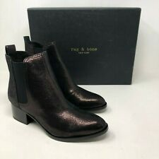 NIB Rag & Bone Walker Metallic Copper Ankle Boot size: US8 EU38