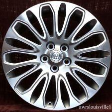 "Buick Lacrosse 2014-2016 OEM 20"" Wheel 4117 90870797 Machined & Silver"