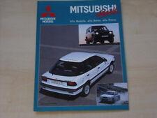 53261) Mitsubishi Colt Lancer Galant - aktuell 09/1989