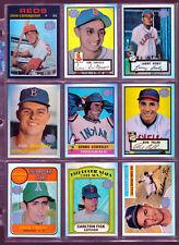 2001 Topps Archives Reserve Refractor Baseball Singles You Pick Finish Set NM-MT