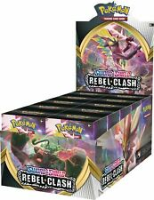 Pokemon Sword & Shield: Rebel Clash Build and Battle Box 10ct Display Free Ship