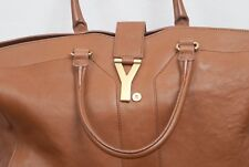 SAINT LAURENT Cabas Chyc Large leather tote Hardly Used