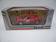 FERRARI 250 Le Mans n°192 TOUR DE FRANCE 69 1:43 MODEL BOX REF 8451TOP !